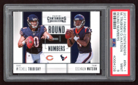 Deshaun Watson / Mitchell Trubisky 2017 Panini Contenders Round Numbers Silver #1 (PSA 9) at PristineAuction.com