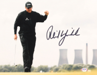Phil Mickelson Signed 11x14 Photo (PSA COA) at PristineAuction.com