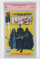 "Mark Hamill Signed 1984 ""Star Wars: Return of the Jedi"" Issue #4 Marvel Comic Book (CBCS Encapsulated) at PristineAuction.com"