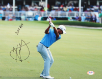 "Xander Schauffele Signed 11x14 Photo Inscribed ""2017 ROY"" (PSA COA) at PristineAuction.com"