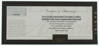 Kyrie Irving Signed NBA Logo Basketball with Display Case (Panini COA) at PristineAuction.com