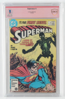 "Jerry Siegel LE Signed 1987 ""Superman"" Issue #1 DC Comic Book (CBCS Encapsulated) at PristineAuction.com"