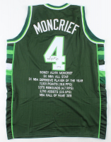 Sidney Moncrief Signed Career Highlight Stat Jersey (PSA COA) at PristineAuction.com