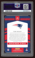 Tom Brady 2017 Donruss Gridiron Kings #18 (PSA 9) at PristineAuction.com