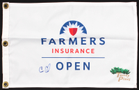 Cameron Champ Signed Farmers Insurance Open Flag (PSA LOA) at PristineAuction.com