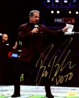 "Bruce Buffer Signed UFC 8x10 Photo Inscribed ""V.O.T.O."" (JSA COA) at PristineAuction.com"