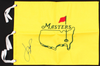 Jordan Spieth Signed The Masters Golf Pin Flag (PSA LOA) at PristineAuction.com