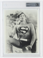 "Christopher Reeve Signed ""Superman"" Photo (Beckett Encapsulated) at PristineAuction.com"