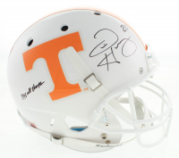 "Travis Henry Signed Tennessee Volunteers Full-Size Helmet Inscribed ""1998 Natl Champs"" (Dave & Adams COA) at PristineAuction.com"