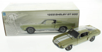Carroll Shelby Signed LE 1968 Ford Shelby GT 500 1:24 Scale Stock Car (PSA COA & Shelby COA) at PristineAuction.com