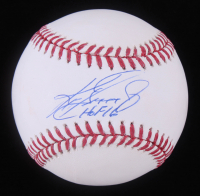 "Ken Griffey Jr. Signed OML Baseball Inscribed ""HOF 16"" (TriStar COA) at PristineAuction.com"