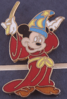 """Mickey Mouse """"The Sorcerer's Apprentice"""" 11.5x13.5 Custom Framed Animation Cell Display With Pin at PristineAuction.com"""