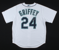 "Ken Griffey Jr. Signed Mariners Authentic Majestic Jersey Inscribed ""HOF 16"" (TriStar COA) at PristineAuction.com"