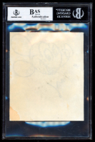 Roy Williams Signed 5x5.5 Hand-Drawn Sketch (BGS Encapsulated) at PristineAuction.com
