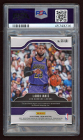 LeBron James 2019-20 Panini Prizm Sensational Swatches #73 (PSA 10) at PristineAuction.com