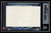 John McCain Signed 3x5 Index Card (BGS Autograph Grade 10) at PristineAuction.com