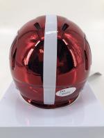 "Jerry Jeudy Signed Alabama Crimson Tide Chrome Speed Mini Helmet Inscribed ""RTR"" (JSA COA) at PristineAuction.com"