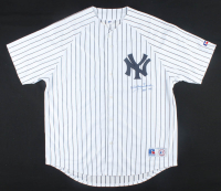 "Whitey Ford Signed Yankees Jersey Inscribed ""HOF '74"" (Beckett COA) at PristineAuction.com"