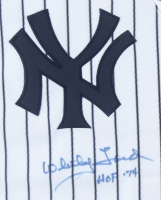 """Whitey Ford Signed Yankees Jersey Inscribed """"HOF '74"""" (Beckett COA) at PristineAuction.com"""
