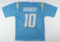 Justin Herbert Signed Jersey (Beckett COA) at PristineAuction.com