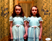 "Lisa Burns & Louise Burns Signed ""The Shining"" 8x10 Photo (JSA COA) at PristineAuction.com"