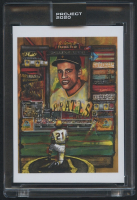 Roberto Clemente Topps Project 2020 #138 by Andrew Thiele (Project 2020 Encapsulated) at PristineAuction.com