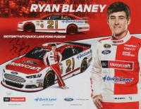 Ryan Blaney Signed NASCAR 8x10 Photo (JSA COA) at PristineAuction.com