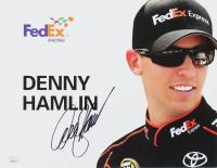 Denny Hamlin Signed 8x10 Photo (JSA COA) at PristineAuction.com