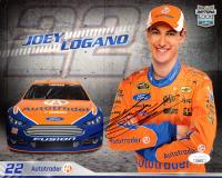 Joey Logano Signed NASCAR 8x10 Photo (JSA COA) at PristineAuction.com