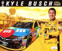 Kyle Busch Signed NASCAR 8x10 Photo (JSA COA) at PristineAuction.com