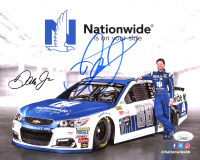 Dale Earnhardt Jr. Signed NASCAR 8x10 Photo (JSA COA) at PristineAuction.com