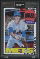 Nolan Ryan Topps Project 2020 #147 by Jacob Rochester (Project 2020 Encapsulated) at PristineAuction.com
