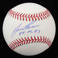 "Jose Canseco Signed OML Baseball Inscribed ""86 AL ROY"" (Schwartz COA) at PristineAuction.com"