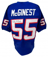 "Willie McGinest Signed Jersey Inscribed ""3x SB Champ"" (JSA COA) at PristineAuction.com"