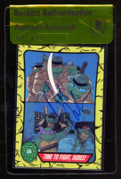 Rob Paulsen Signed 1989 Teenage Mutant Ninja Turtles #38 Time to Fight, Dudes (BGS Authentic) at PristineAuction.com