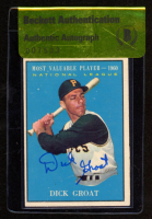 Dick Groat Signed 1961 Topps #486 MVP (BGS Authentic) at PristineAuction.com