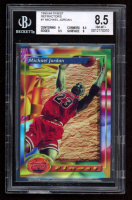 Michael Jordan 1993-94 Finest Refractors #1 (BGS 8.5) at PristineAuction.com
