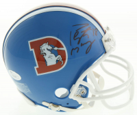 Peyton Manning Signed Broncos Throwback Mini-Helmet (JSA COA) at PristineAuction.com