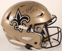 Drew Brees Signed Saints Full-Size Authentic On-Field SpeedFlex Helmet (Beckett COA) at PristineAuction.com