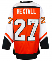 "Ron Hextall Signed Jersey Inscribed ""87 Conn Smythe"" (JSA COA) at PristineAuction.com"