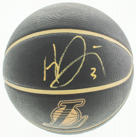 Anthony Davis Signed Lakers Logo Basketball (Beckett COA) at PristineAuction.com