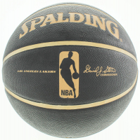 Anthony Davis Signed Lakers Logo Basketball (Beckett COA) at PristineAuction.com
