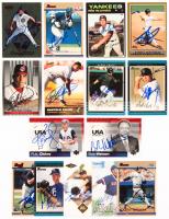 Lot of (15) Signed Baseball Cards with #26 Kerry Wood, #164 Bartolo Colon, #159 Bartolo Colon, #21 Mo Vaughn, #33 Todd Helton, #438 Matt McCormick, #287 Matt Holiday, #150 Bob Watson, #137 Josh Hamilton & #47 R.A Dickey (JSA ALOA) at PristineAuction.com