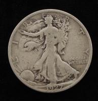 1927-S Walking Liberty Silver Half-Dollar at PristineAuction.com