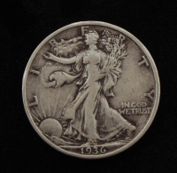 1936-S Walking Liberty Silver Half-Dollar at PristineAuction.com