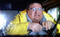 """Wayne Knight Signed """"Jurassic Park"""" #12 Jeep License Plate - Movie Prop Replica (PA COA) at PristineAuction.com"""