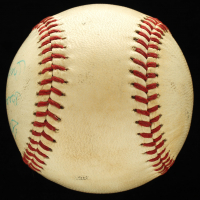 "Mickey Mantle Signed Official Babe Ruth League Baseball Inscribed ""Best Wishes"" (JSA ALOA) at PristineAuction.com"