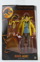 """Wayne Knight Signed """"Jurassic Park"""" - Dennis Nedry Amber Collection Action Figure (PA COA) at PristineAuction.com"""