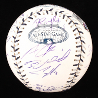 2008 All-Star Game Baseball Signed By (28) With Adrian Gonzalez, Chipper Jones, Clint Hurdle, Dan Uggla, David Wright, Kerry Wood (MLB Hologram) at PristineAuction.com