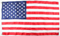 American Flag Flown Over the Capitol on October 2, 2017 (Architect of the Capitol COA) at PristineAuction.com